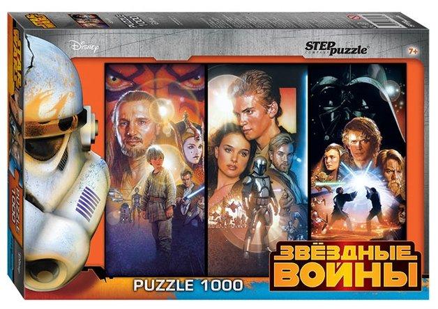 Пазл Step puzzle Disney Звёздные войны (79607), 1000 дет.
