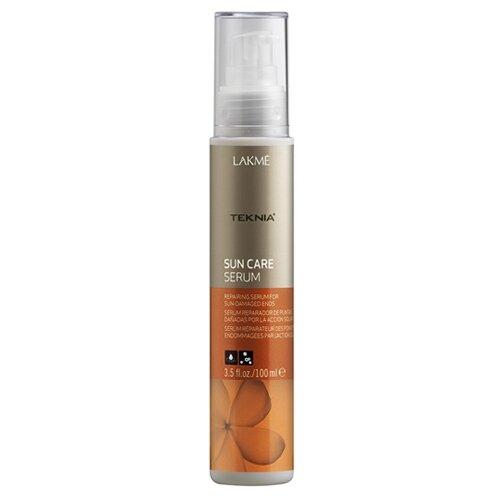 Lakme Teknia Sun Care Сыворотка восстанавливающая для поврежденных солнцем кончиков волос, 100 млМаски и сыворотки<br>