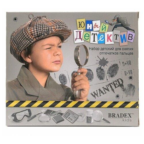 Игровой набор BRADEX Юный детектив DE 0108 игровой набор 4m юный врач анатомия человека 00 03374