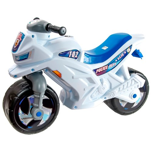 Каталка-толокар Orion Toys Мотоцикл 2-х колесный (501) белый сортер orion toys логика шар 177 в 2 1018728 белый красный