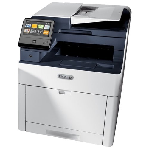 Фото - МФУ Xerox WorkCentre 6515N, белый/синий парогенератор tefal gv8977 2400вт белый синий