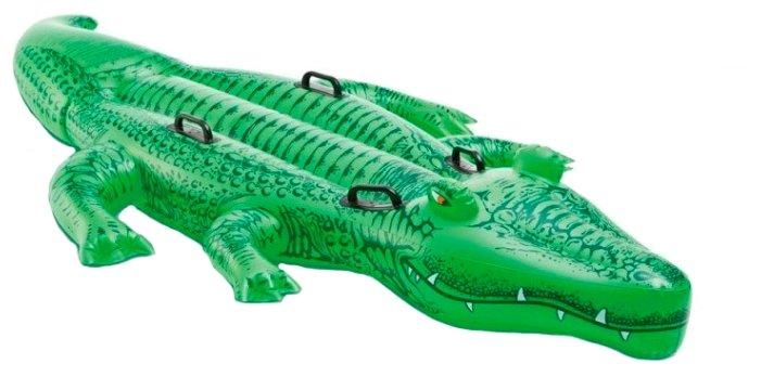 Надувная игрушка-наездник Intex Крокодил 58562