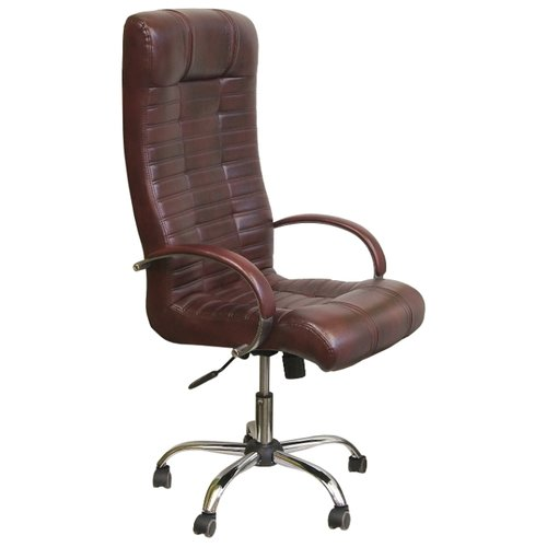 Компьютерное кресло Креслов Атлант КВ-02-131112, обивка: искусственная кожа, цвет: коричневый