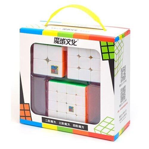 Набор головоломок Moyu 2x2x2-4x4x4 Cubing Classroom SET 3 шт.