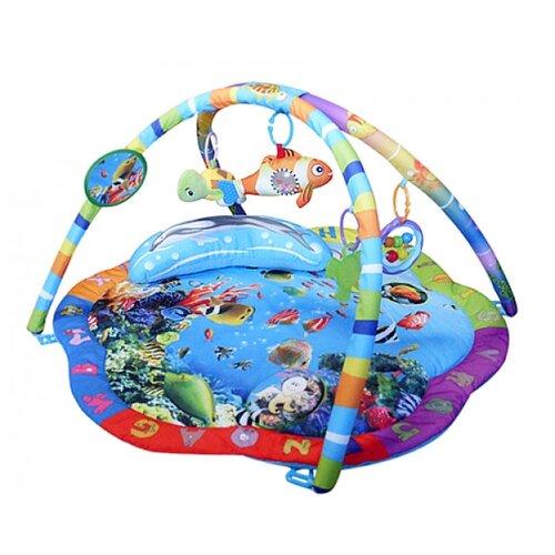 Купить Развивающий коврик La-Di-Da Подводный Мир, Развивающие коврики