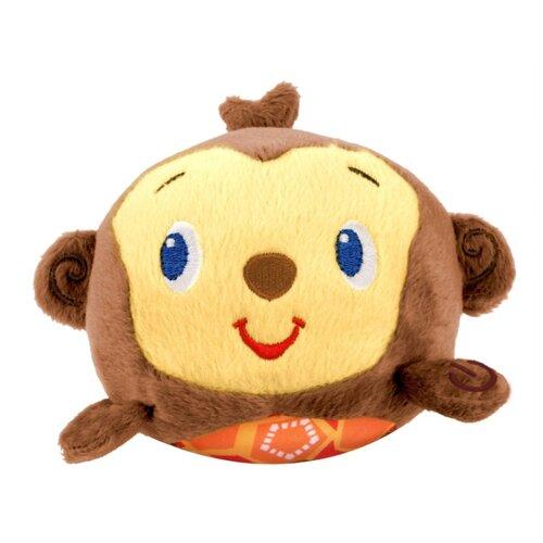Купить Интерактивная развивающая игрушка Bright Starts Музыкальная обезьянка коричневый/бежевый, Развивающие игрушки