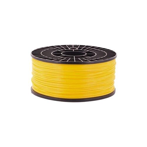 PLA пруток на катушке Мастер Пластер 1.75 мм жёлтый 1 кг