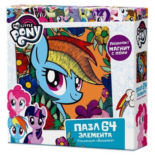 Купить Пазл Origami My Little Pony Радуга Дэш (03416), 64 дет., Пазлы