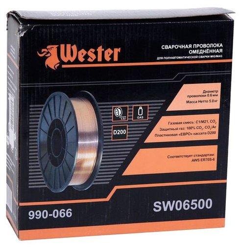 Проволока из металлического сплава Wester SW06500 0.6мм 5кг