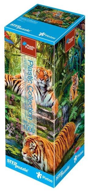 Пазл Step puzzle Plastic Collection Тигры (98040), 1000 дет.