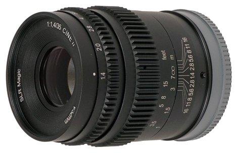 Объектив SLR Magic 35mm T1.4 Mark II Fuji X