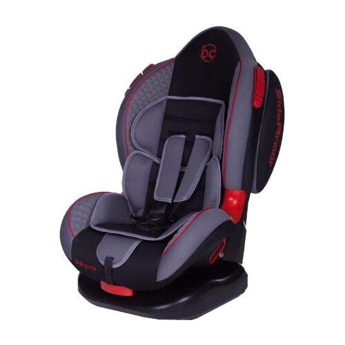 Автокресло группа 1/2 (9-25 кг) Baby Care Polaris Isofix, grey/black автокресло happy baby mustang isofix blue