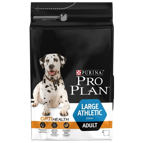 Корм для собак Purina Pro Plan (3 кг) Large Athletic Adult сanine Chicken with Rice dry