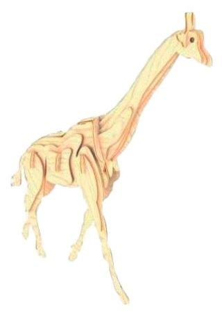 Сборная модель Мир деревянных игрушек Жираф (М020),,