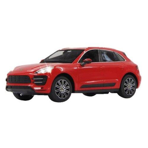 Легковой автомобиль Rastar Porsche Macan Turbo (73300) 1:14 33 см красный легковой автомобиль rastar ferrari 458 italia 47300 1 14 32 5 см красный