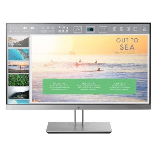 Монитор HP EliteDisplay E233 23 серебристый/черный монитор hp 24fw 23 8 серебристый черный [4tb29aa]