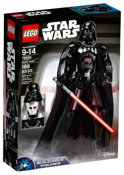 Конструктор LEGO Star Wars 75534 Дарт Вейдер — цены на Яндекс.Маркете
