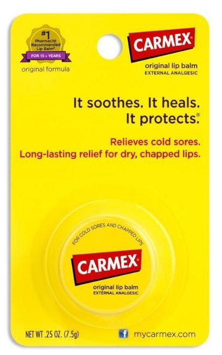 Carmex Бальзам для губ Original jar