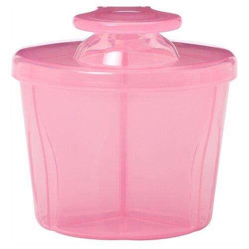 Контейнер Dr. Brown s дозатор сухой смеси розовый