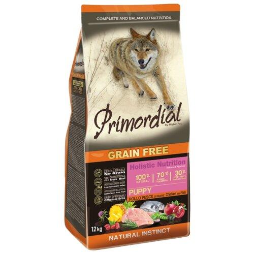 Корм для собак Primordial (12 кг) Puppy Курица, рыбаКорма для собак<br>