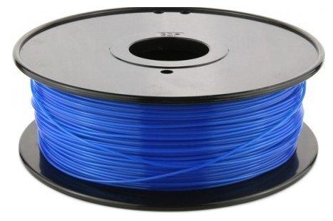PLA пруток FL-33 1.75 мм синий флуоресцентный