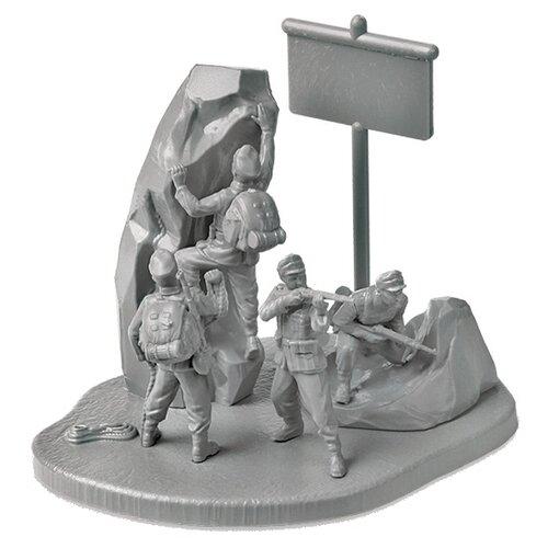 Сборная модель ZVEZDA Немецкие горные стрелки 1939-1943 (6154) 1:72