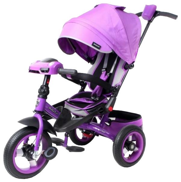 Велосипед Moby Kids Leader 360° 12x10 AIR Car 641209 красный