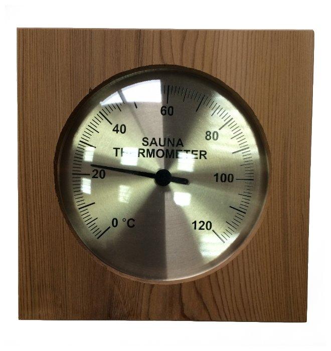 Термометр SAWO 210-TED (Кедр (D), 128x20x128 мм)