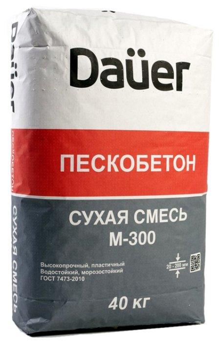 Пескобетон Dauer М300, 40 кг