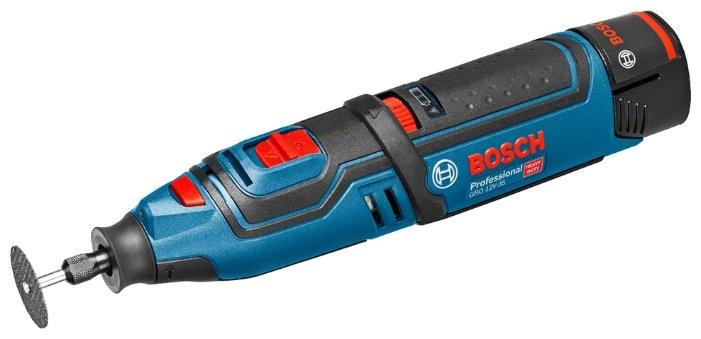 Bosch GRO 12V-35 2.0Ач х2 L-BOXX