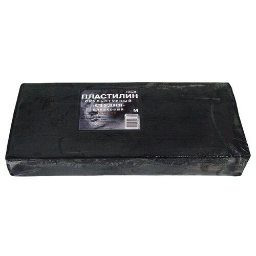 Купить Пластилин ГАММА Студия мягкий оливковый 1000 г (2.80.Е100.004), Пластилин и масса для лепки