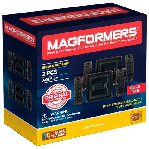 Купить Дополнительные детали Magformers Single 713009 Двойные колеса, Конструкторы