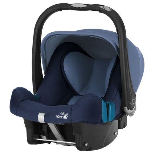 цена на Автокресло-переноска группа 0+ (до 13 кг) BRITAX ROMER Baby-Safe Plus II SHR, Moonlight Blue