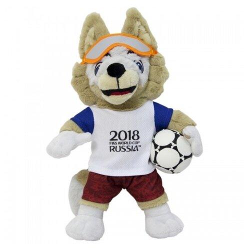 Мягкая игрушка 1 TOY FIFA-2018 Волк Забивака 21 см fifa 2018 мяч сувенирный забивака разноцветный