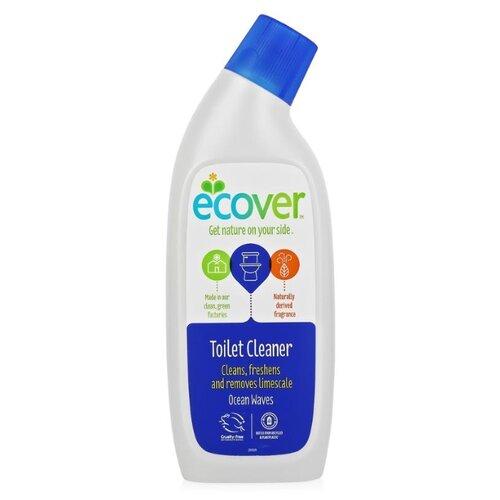 Ecover гель для унитаза Океанская свежесть 0.75 л ecover экологический спрей для ванной комнаты океанская свежесть 500 мл