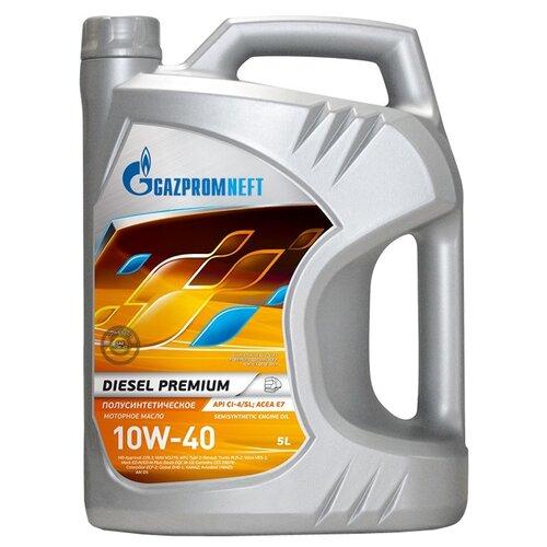 Моторное масло Газпромнефть Diesel Premium 10W-40 5 л