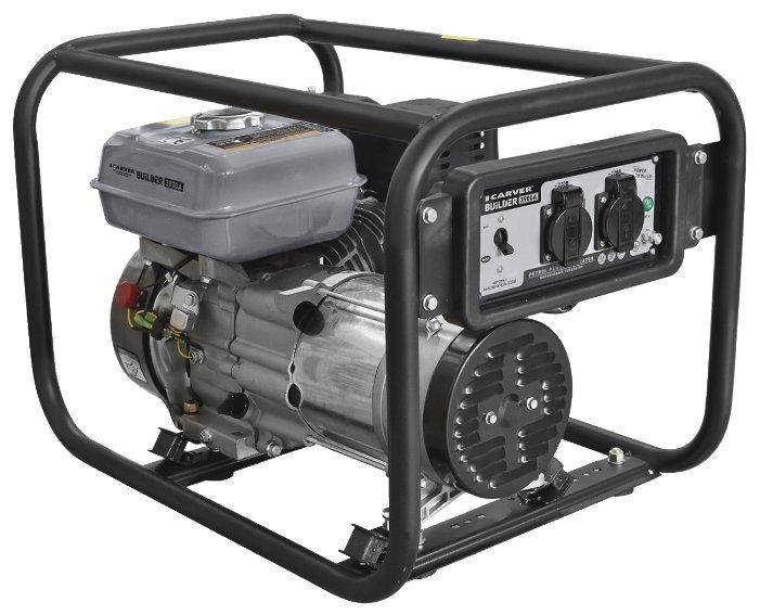 Бензиновый генератор Carver PPG 3900A Builder (2800