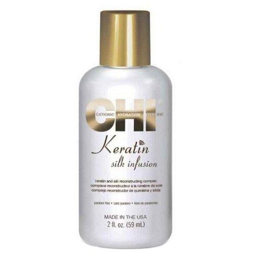Фото - CHI Keratin Шелк для волос, 59 мл chi гель шелковая инфузия 59 мл