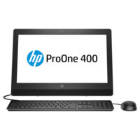 "Моноблок HP ProOne 400 G3 (2RT99ES) Intel Pentium Dual-Core G4560T 2.9GHz/4096Mb/500Gb/20"" 1600x900/DVD-RW/Shared VGA/WiF/Bluetooth/DOS"