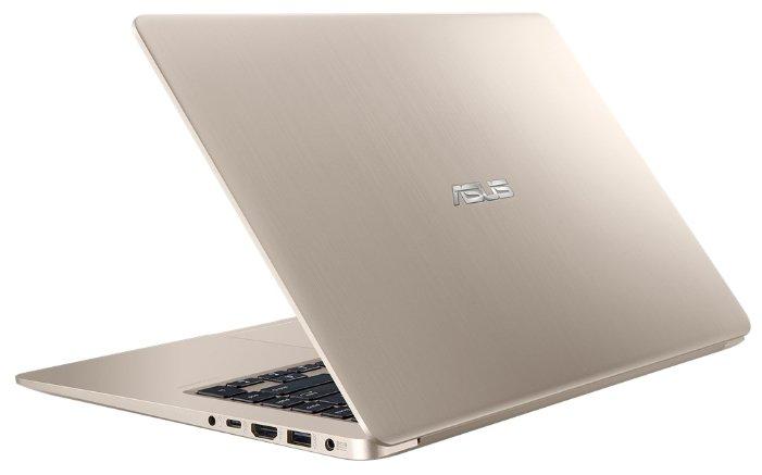 "Ноутбук ASUS VivoBook S15 S510UN (Intel Core i3 7100U 2400 MHz/15.6""/1920x1080/4GB/256GB SSD/DVD нет/NVIDIA GeForce MX150/Wi-Fi/Bluetooth/Endless OS)"