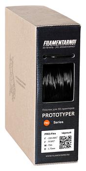 PRO-FLEX пруток Filamentarno! 1.75 мм черный