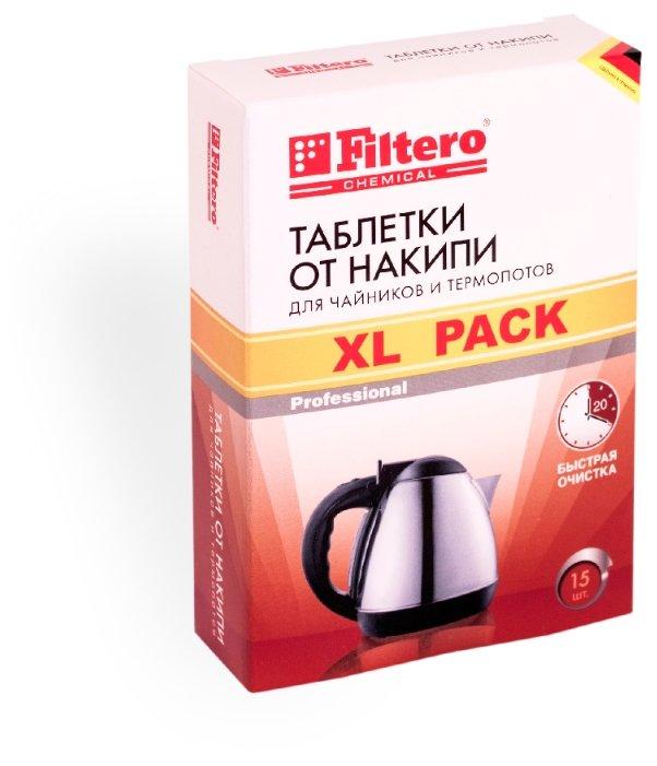 Таблетки Filtero XL Pack от накипи для чайников и термопотов (609) 15 шт