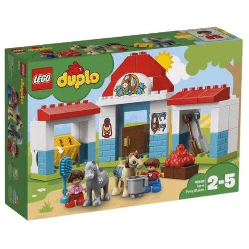 Купить Конструктор LEGO Duplo 10868 Конюшня на ферме, Конструкторы