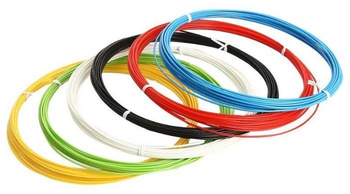 ABS пруток 3Dplast 1.75 мм 6 цветов