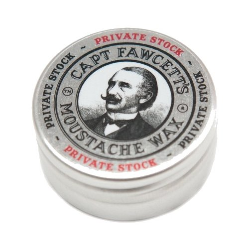 Captain Fawcett Воск для усов Private Stock Moustache Wax, 15 мл