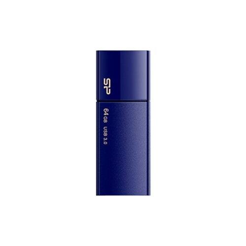 Фото - Флешка Silicon Power Blaze B05 64 GB, морской синий флешка silicon power blaze b05 8 gb синий