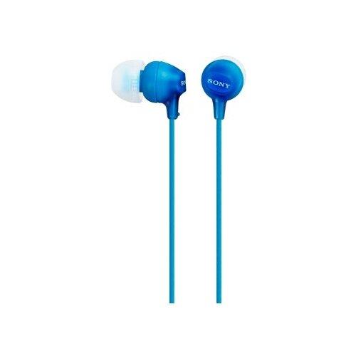Купить Наушники Sony MDR-EX15AP синий