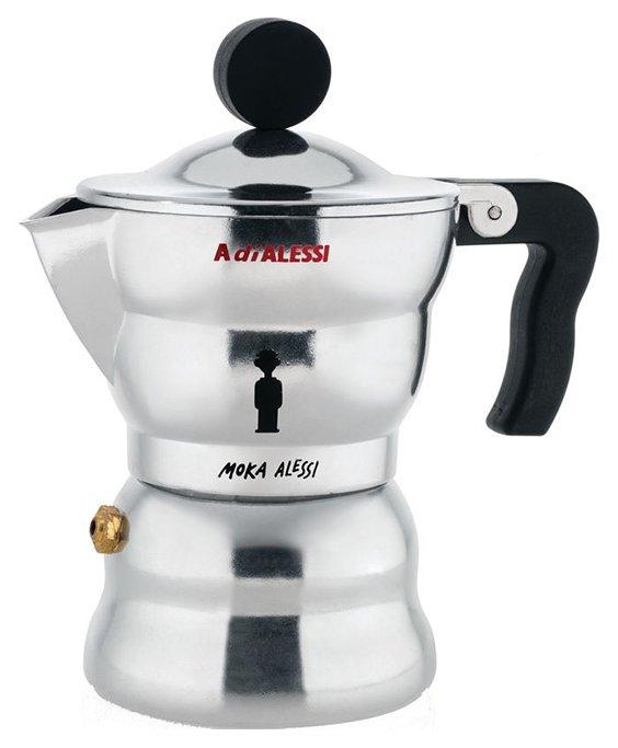 Alessi Кофеварка для эспрессо moka alessi-файн 70 мл.