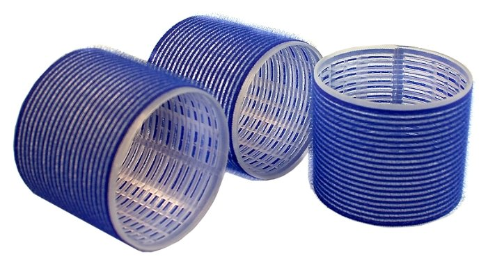 Бигуди-липучки Sibel Velcro 4168049 (80 мм)