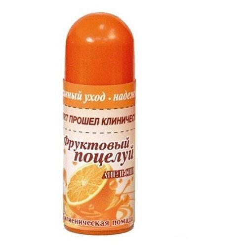 Фруктовый поцелуй Гигиеническая помада Апельсин недорого